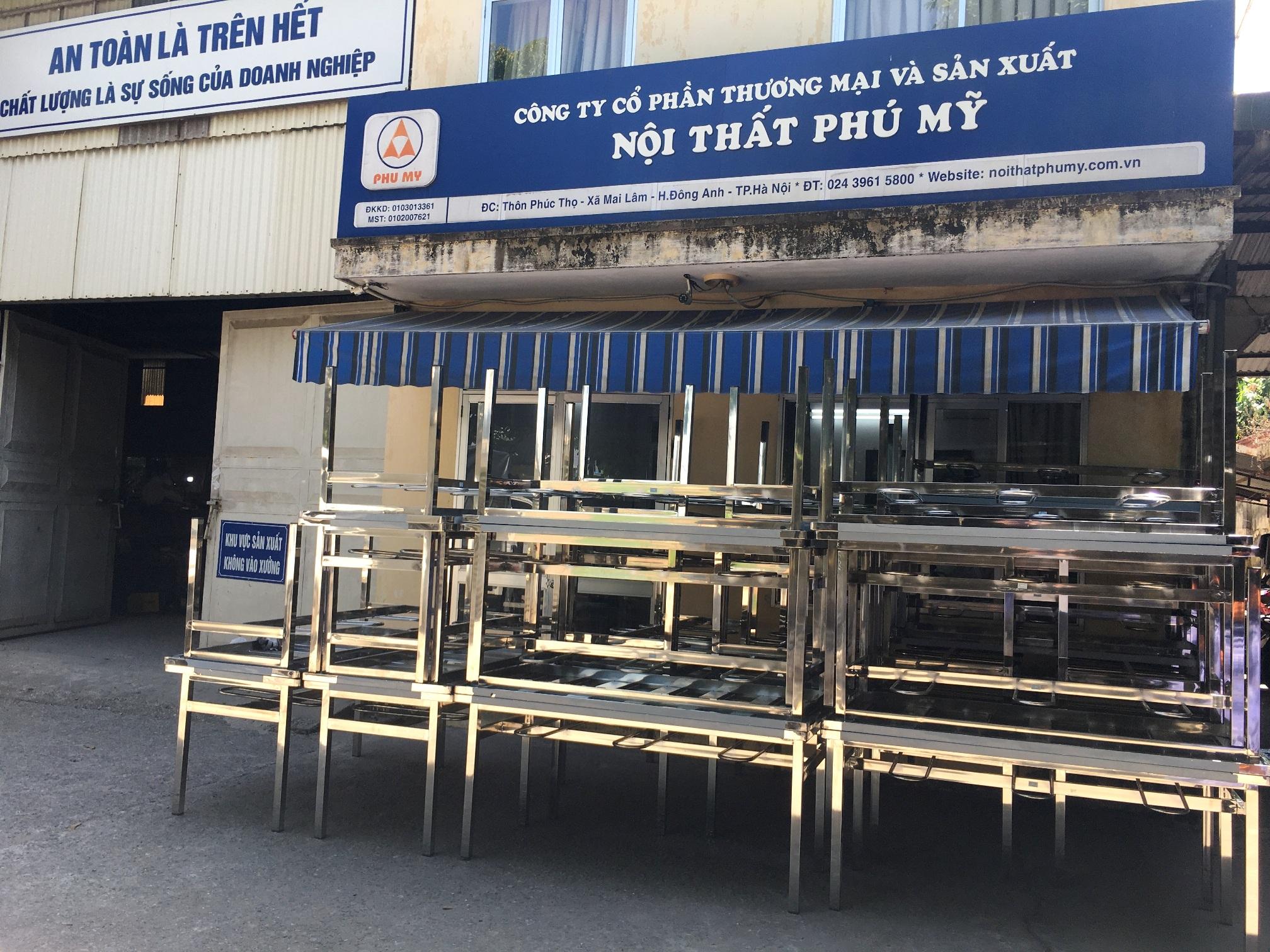 Dự án bàn ăn CN - khu CN Bắc Ninh