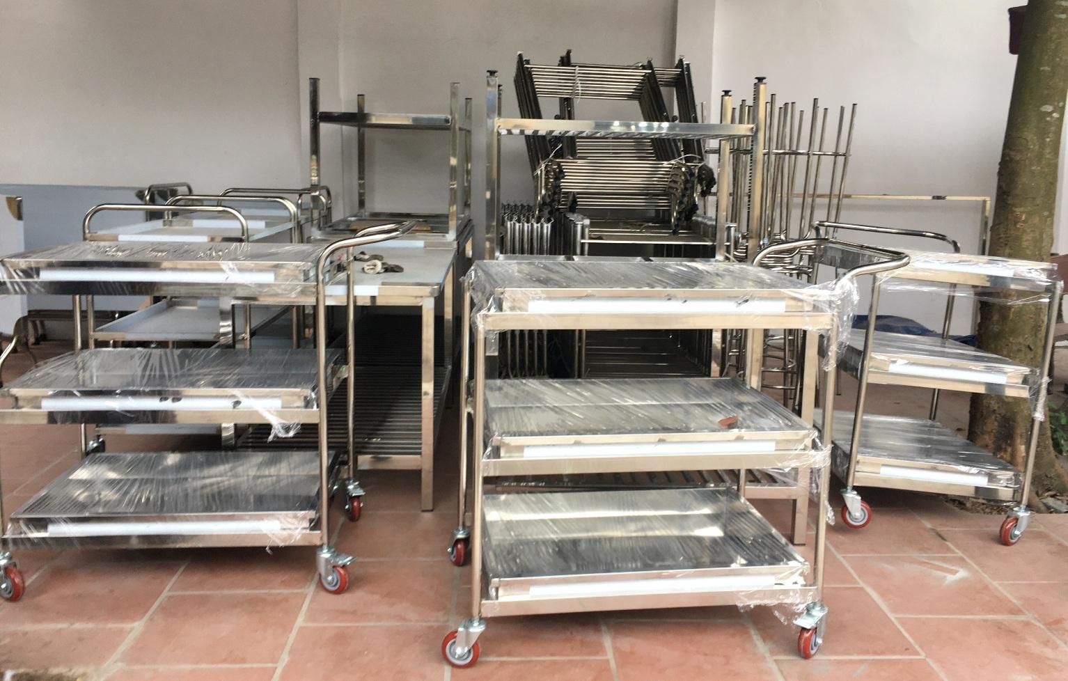 Dự án thiết bị nhà bếp công nghiệp